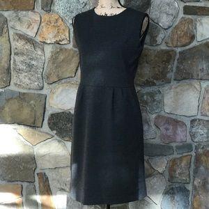 Uniqlo Charcoal grey sheath dress size M